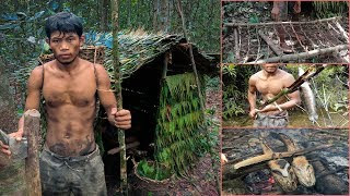 Download real life in the forest with primitive technology - full video Video