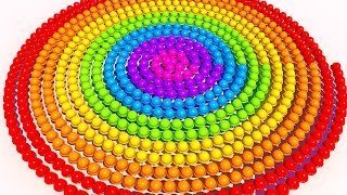 Download A lot of 3D Spiral Ice Cream to Learning Colors for Children and Kids Video