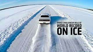 Download Dodge Challenger Hellcat - World Record On Ice Video