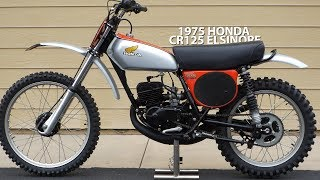 Download 1975 Honda CR125 Elsinore - Tom White's Museum Video