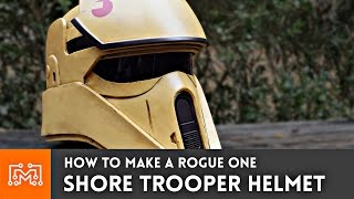 Download Star Wars Rogue One Shore Trooper Helmet (3d printed) // How-To Video