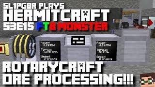 Download HermitCraft FTB Monster - Rotarycraft Ore Processing!!! ( Minecraft Feed The Beast ) S3E15 Video