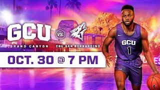 Download GCU Men's Basketball vs CSU San Bernardino October 30, 2019 Video