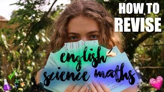 Download A* Revision Tips - How to Revise English, Maths & Science! HOW I GOT ALL A* AT GCSE Video