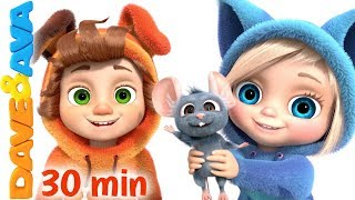 Download 🐬 One Little Finger & More Kids Songs by Dave and Ava 🐬 Video