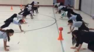 Download Physical Education Instant Activities for Upper body strength Video