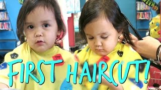 Download TWIN'S FIRST HAIRCUT! - October 25, 2016 - ItsJudysLife Vlogs Video