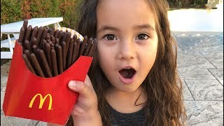 Download Magic McDonald's Happy Meal! Turns into real chocolate iPhone and French Fries Compilation Video