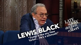 Download Lewis Black Begins His Mornings With The News And Screaming Video