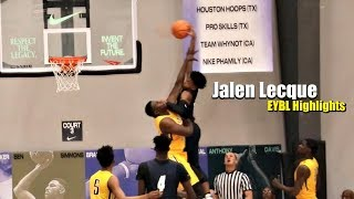 Download Jalen Lecque Dunks On The #1 Player in High School! EYBL Highlights Video