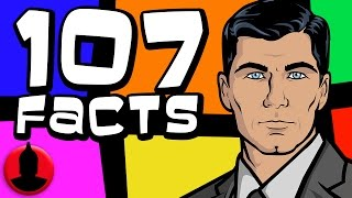 Download 107 Archer Facts YOU Should Know! (ToonedUp #22) @ChannelFred Video