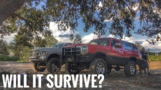 Download Taking the Cummins Swapped Ramcharger Off-Roading!! Video