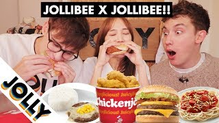 Download Jollibie Tries the Whole Jollibee Menu for the First Time!!! Video