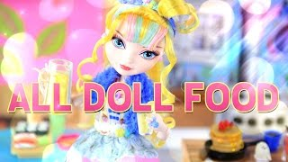 Download ALL DOLL FOOD Review: Toys - Gudetama - Lori - Barbie - Breakfast - Lunch - Dinner - 4K Video