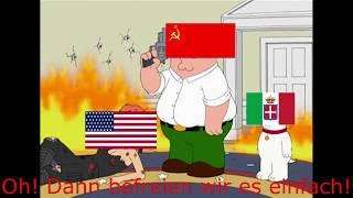 Download Family Guy WW2 Meme (Deutschland gegen USA)[Deutsch] Video