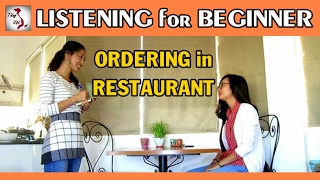 Download Learn Vietnamese with TVO | Listening for Beginner level: Ordering in Restaurant Video