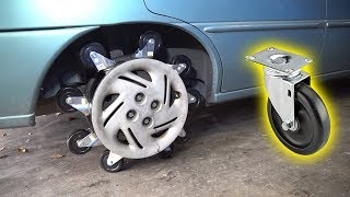 Download We Made a TIRE out of SHOPPING CART WHEELS Video