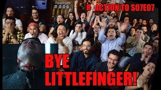 Download Game of Thrones S07E07 LITTLEFINGER'S DEATH Brazilian Reaction - Sena's Bar Video