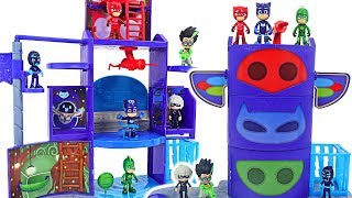 Download Transformation base is broken! PJ Masks New Mission Control HQ Playset upgrade! #DuDuPopTOY Video