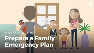 Download Prepare a Family Emergency Plan | Disasters Video