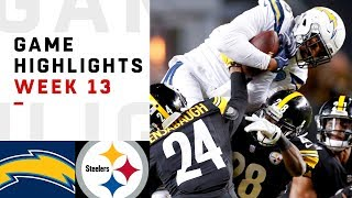 Download Chargers vs. Steelers Week 13 Highlights | NFL 2018 Video