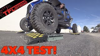 Download Does The Polaris RZR XP 4 Turbo S Pass or Fail the Ultimate Slip Test? Video