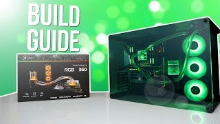 Download How To Build A Water Cooled PC - EK RGB Liquid Cooling Kit Video