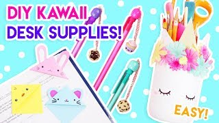 Download DIY Kawaii Desk + School Supplies (Quick and Easy)! 😄 Video