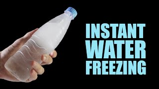 Download Instant Water Freezing - 5 Amazing Tricks Video
