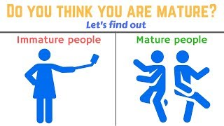 Download 4 Signs you are still not a MATURE PERSON Video