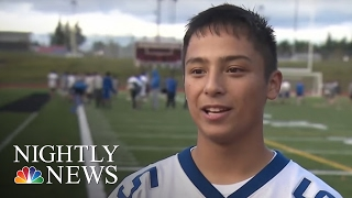 Download High School Football Team Too Good, Nobody Wanted To Play Them | NBC Nightly News Video