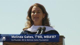 Download Melinda Gates' Graduation Speech at Duke University Video