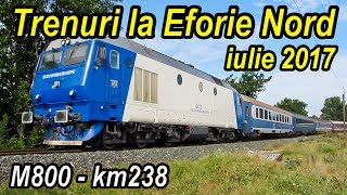 Download Trenuri la Eforie Nord-Summer trains at Black Sea-Sommer Zügefestival Video