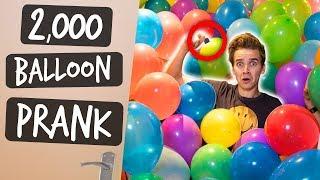 Download 2,000 BALLOONS PRANK! Video