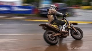 Download Supermoto Drifts, jumps & crashes - iDM St. Wendel [HD] Video