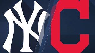 Download Gregorius, Romine lift Yankees over Indians: 7/14/18 Video