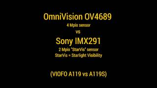Download OV4689 vs Sony IMX291 ″StarVis″ - night time sensor demo Video