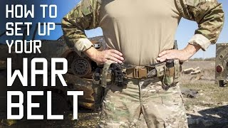 Download How To Set Up Your WAR BELT | DUTY BELT | SF Assaulter Gear | Tactical Rifleman Video