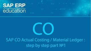Download SAP CO Actual Costing Material Ledger step by step part №1 Video