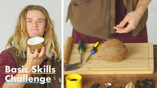 Download 50 People Try to Crack Open a Coconut | Epicurious Video