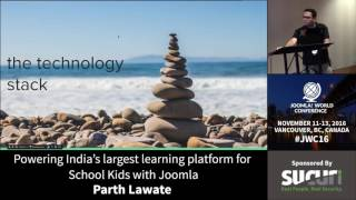 Download JWC 2016 - Powering India's Largest Learning Platform for School Kids with Joomla! - Parth Lawate Video