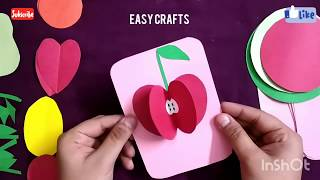 Download DIY 3D Fruits with paper Video