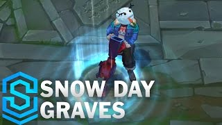 Download Snow Day Graves Skin Spotlight - Pre-Release - League of Legends Video