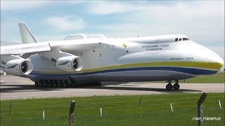 Download Antonov 225 Mriya Departure from East Midlands UK | 13/06/14 Video