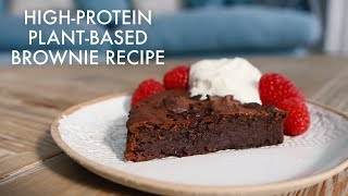 Download High Protein Plant-Based Brownie Recipe Video