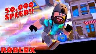 Download ROBLOX SPRINTING SIMULATOR - 50,000 SPEED!! Video