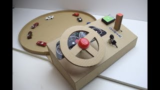 Download How to make a track car driving Desktop Game from Cardboard Video