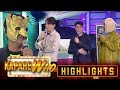 Haha Muhlach gives love advice to Vice, Vhong and Ryan | It's Showtime KapareWHO