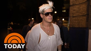 Download Violent Protests At UC Berkeley Prevent Milo Yiannopoulos Event | TODAY Video