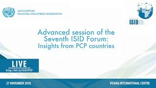 Download Advanced session of the Seventh ISID Forum: Insights from PCP countries Video